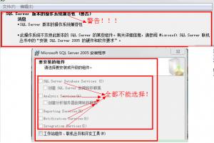 Windows安装sql server2005